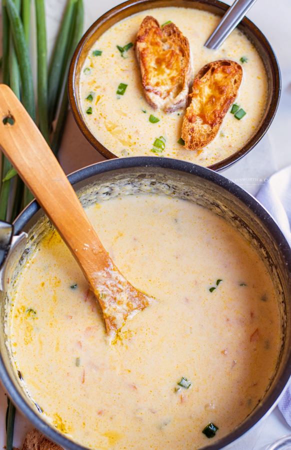 stovetop Beer Cheese Soup
