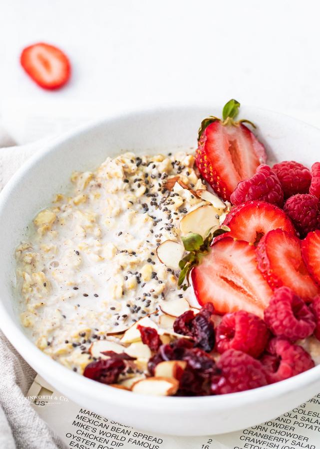 breakfast cold oats