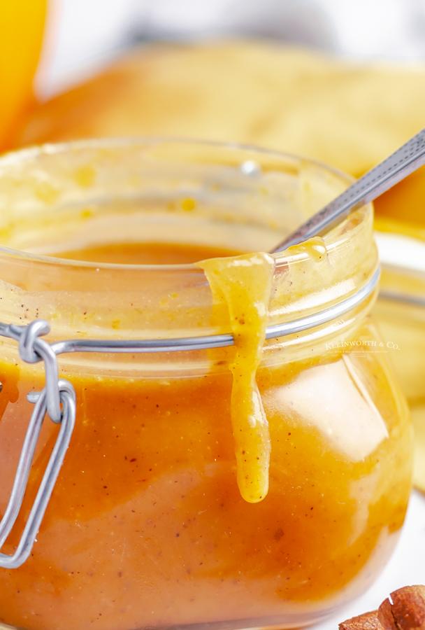 caramel sauce for dipping