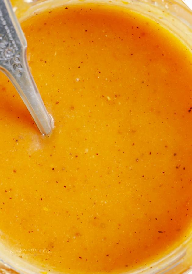 pumpkin caramel topping