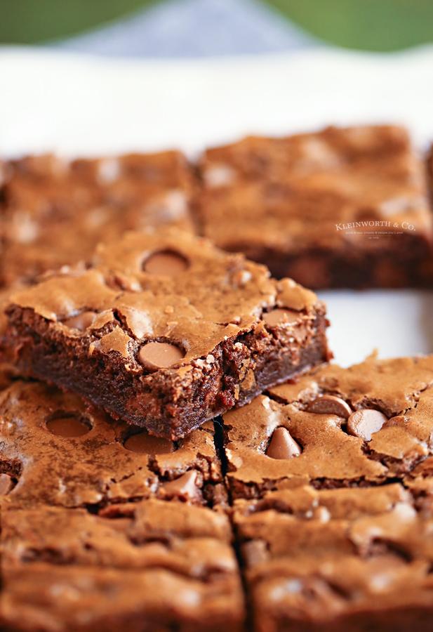 brownie bars - easy recipe