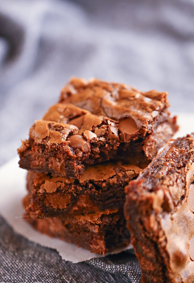bite of a brownie