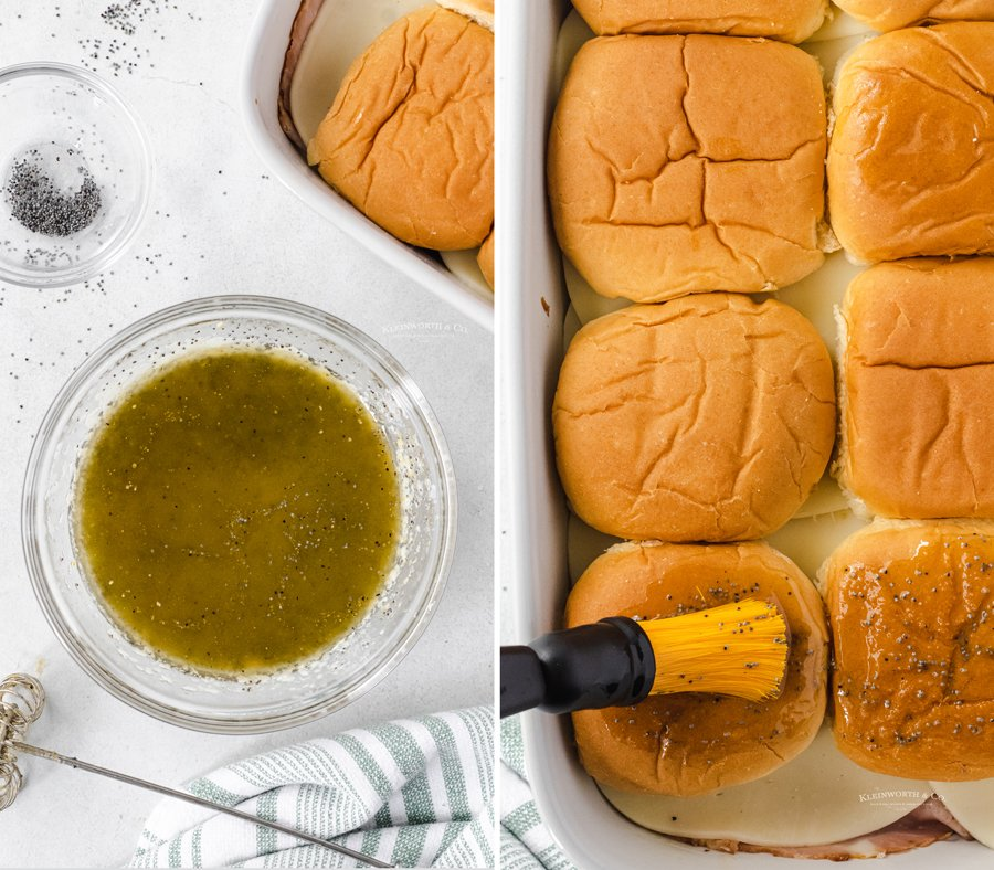 how to make Poppy Seed Sliders