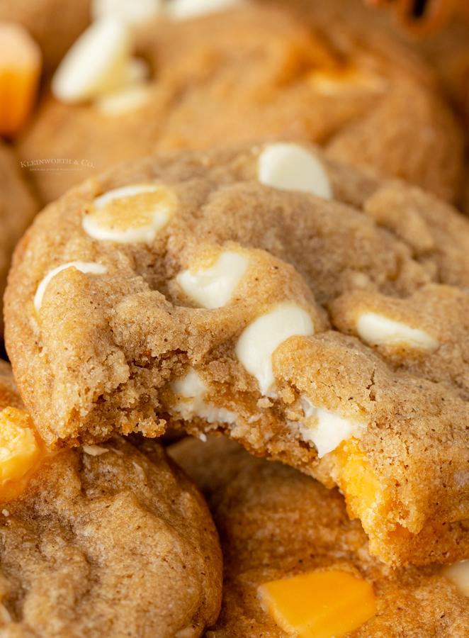 NO CHILL pumpkin cookie