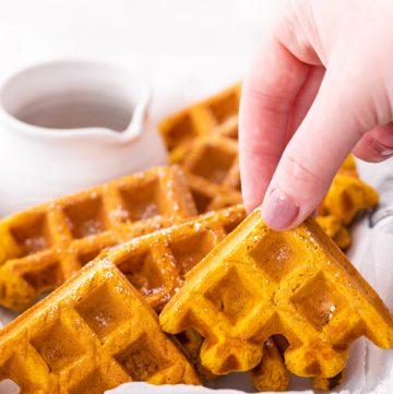 best pumpkin waffles