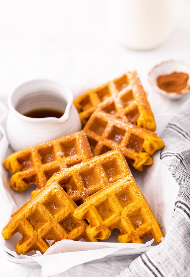 recipe for pumpkin waffles