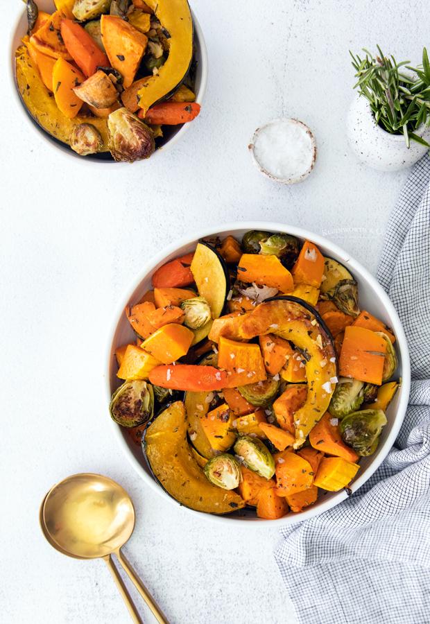 autumn roasted vegetables