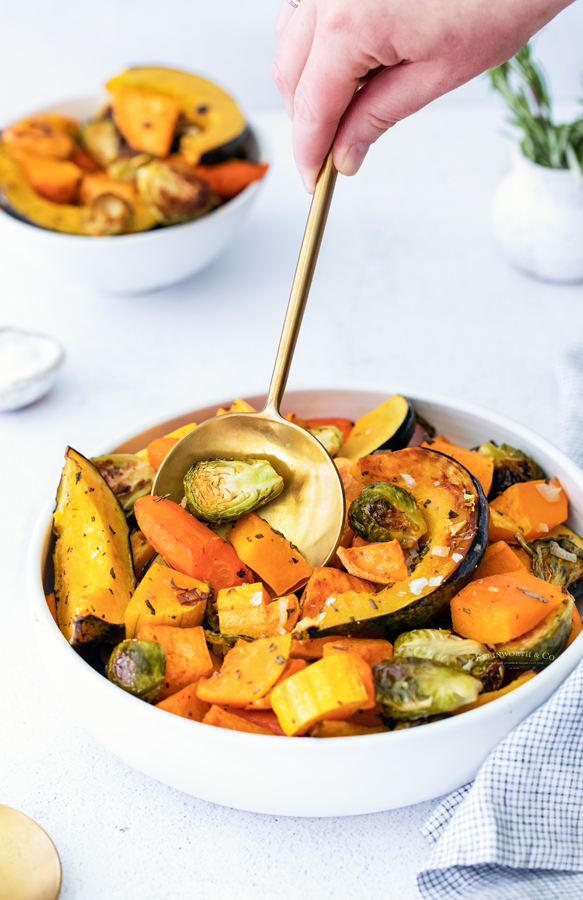 holiday side dish - veggies