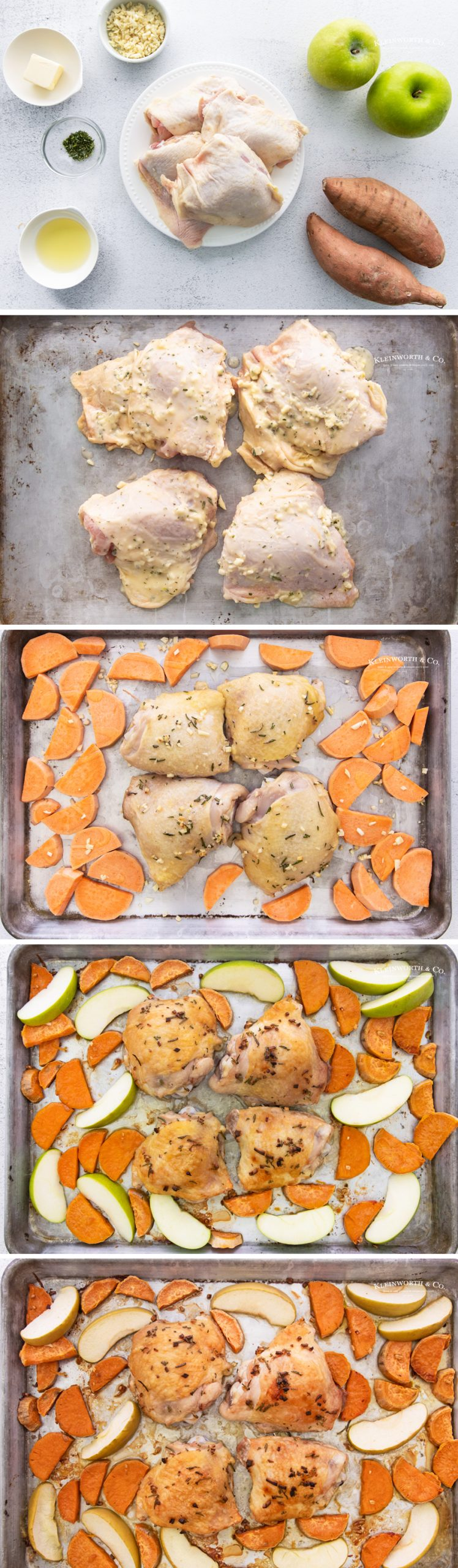 how to make Sheet Pan Chicken Thighs