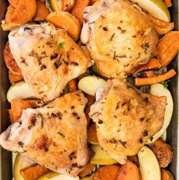fall chicken dinner