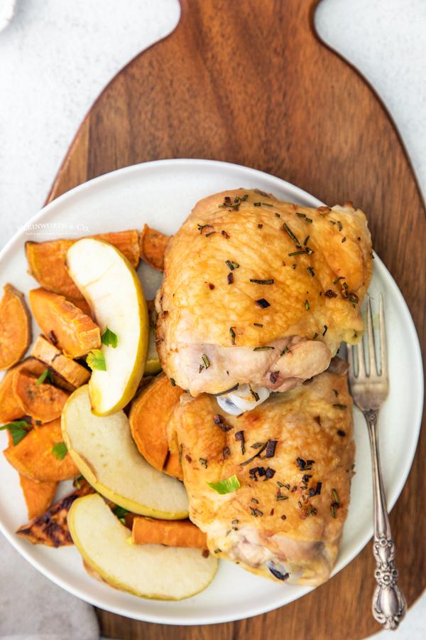 recipe for Sheet Pan Chicken Thighs