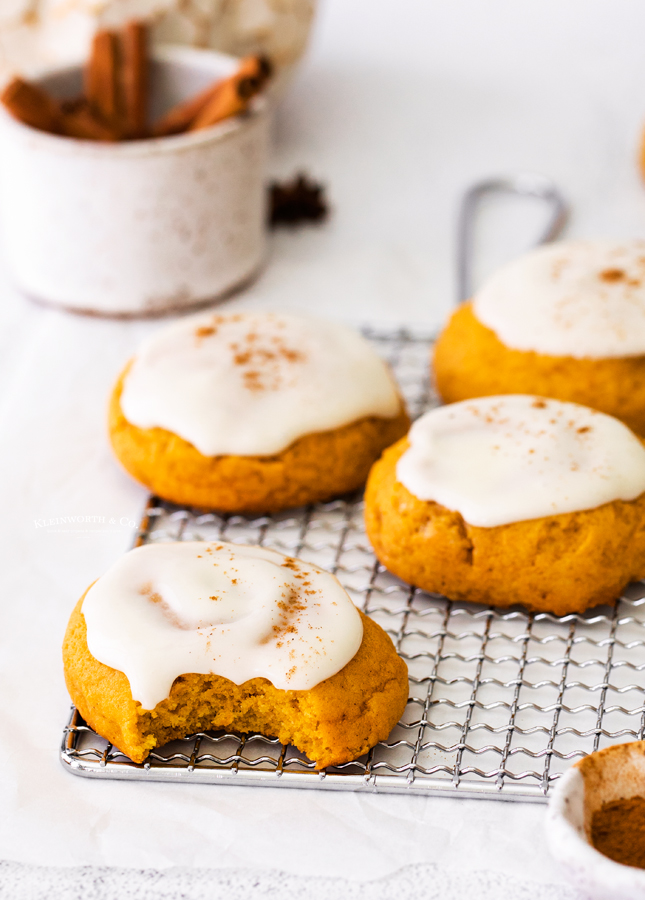 the best pumpkin cookies