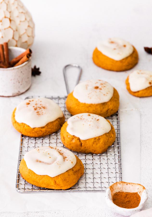 pumpkin dessert cookies