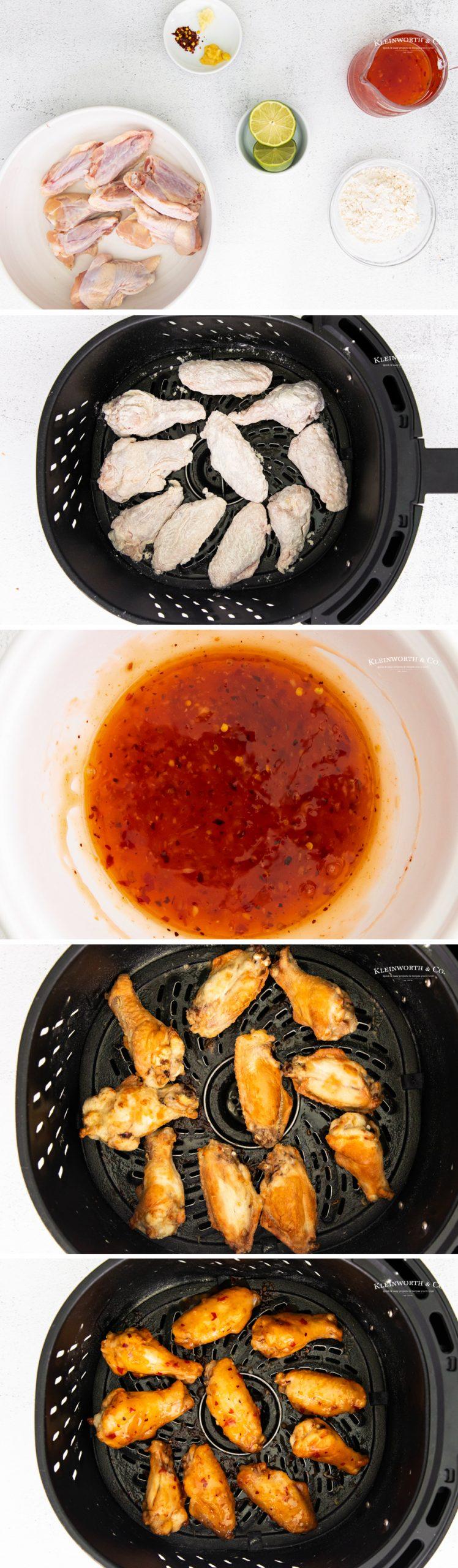 how to make Sweet Thai Chili Wings