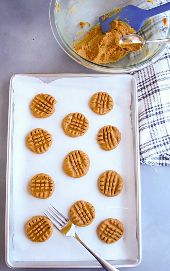 ready to bake 3-Ingredient Cookies