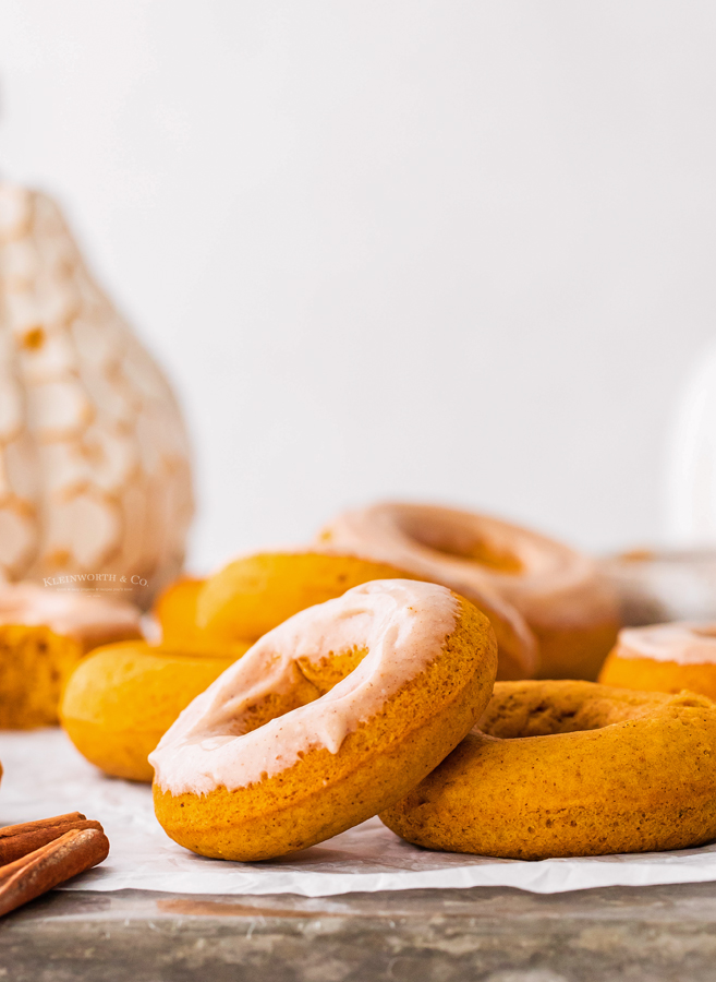 maple icing on donuts