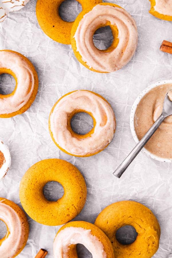 cake donuts pumpkin