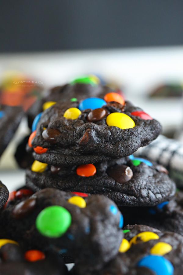 black Chocolate Cookies