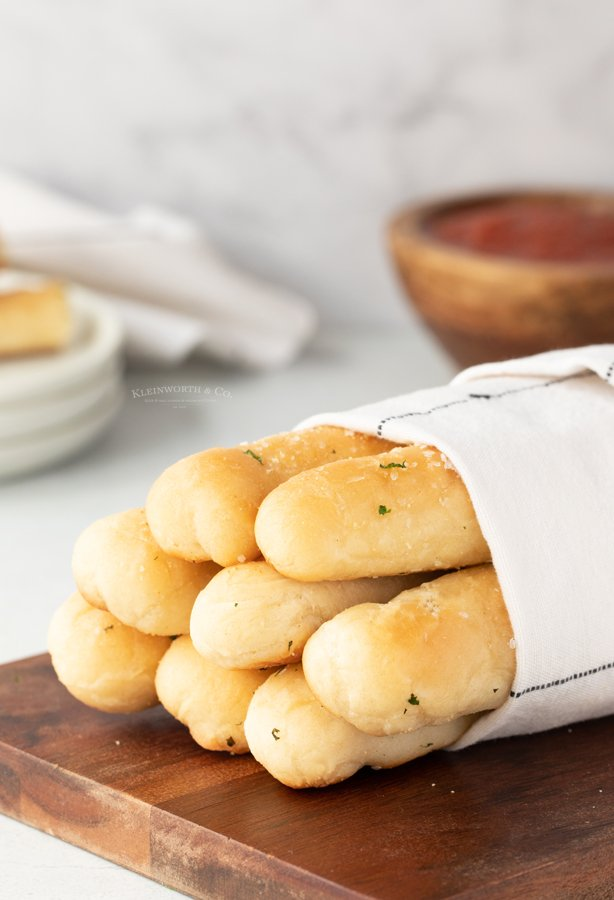 garlic parmesan breadstick recipe