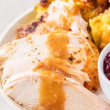 holiday turkey and gravy