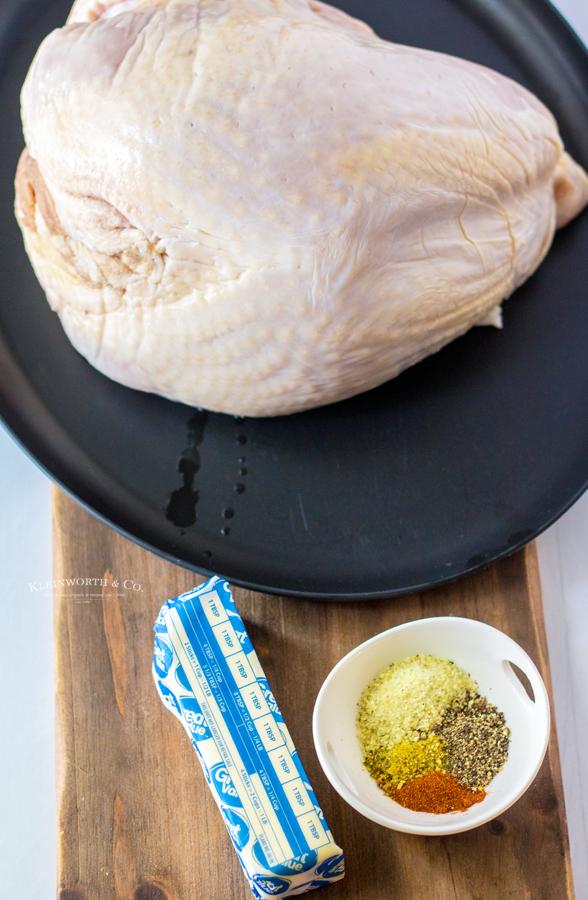 ingredients for Air Fryer Turkey Breast