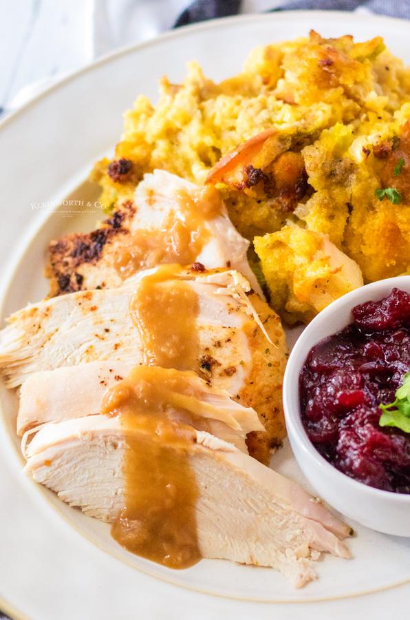 thanksgiving turkey in the air fryer