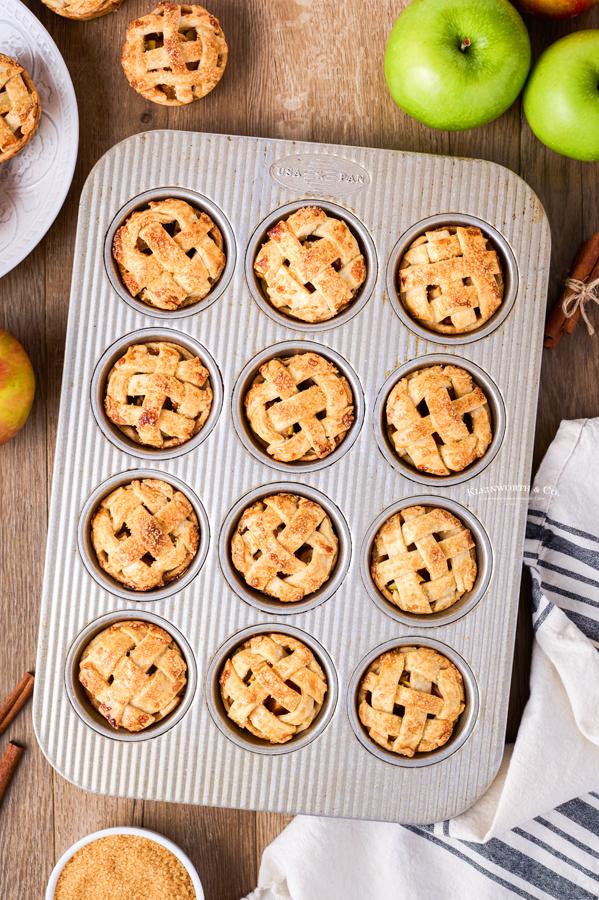 baked tiny pies
