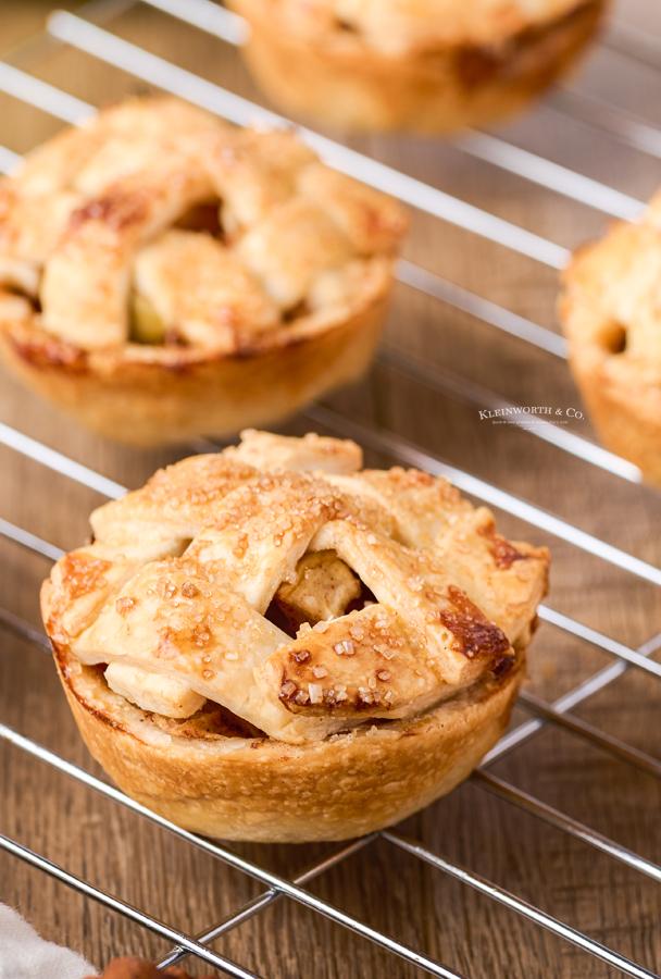 recipe for Mini Apple Pies
