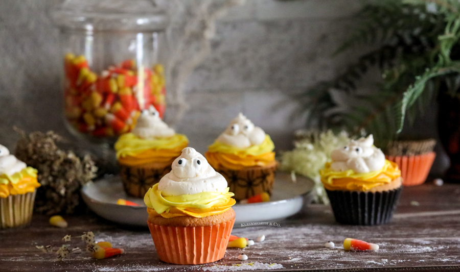 cute cupcakes for kids Halloween party