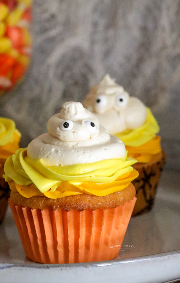 recipe for Ghost Cupcakes