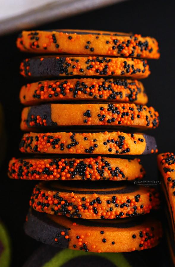 how to make halloween pinwheel cookies