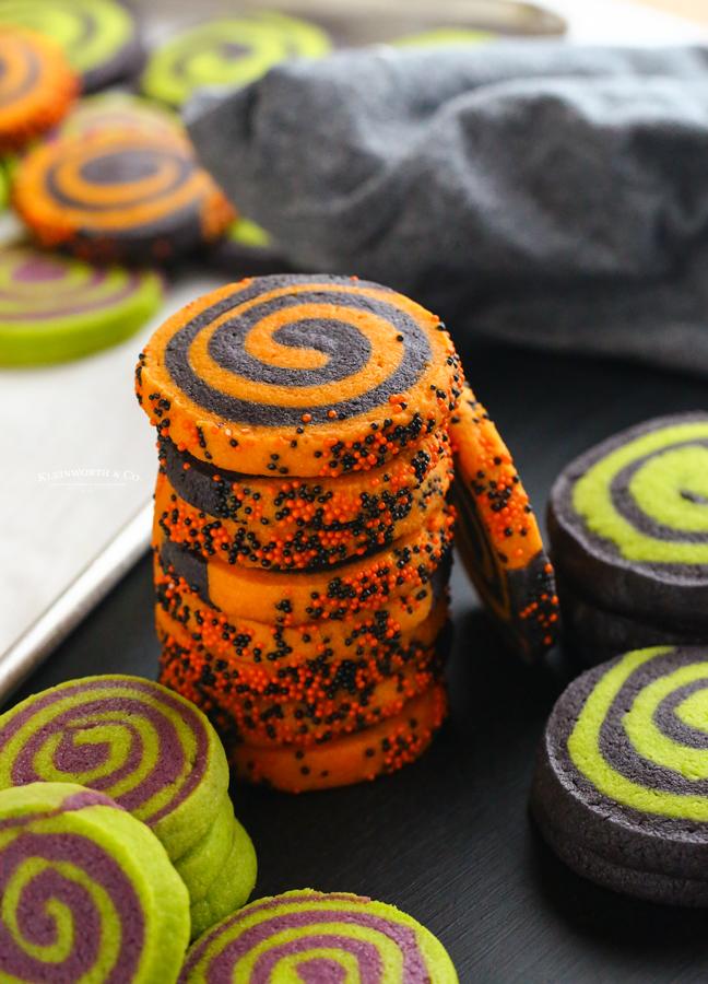ingredients for Halloween Sugar Cookies