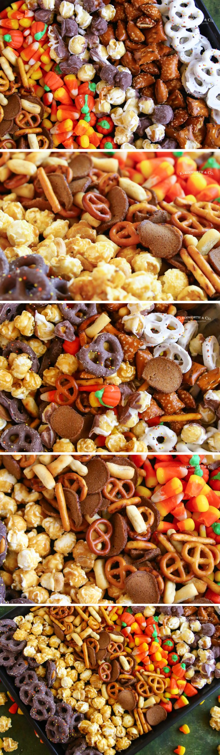 how to make Halloween Snack Mix