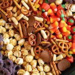 sweet and salty fall snack