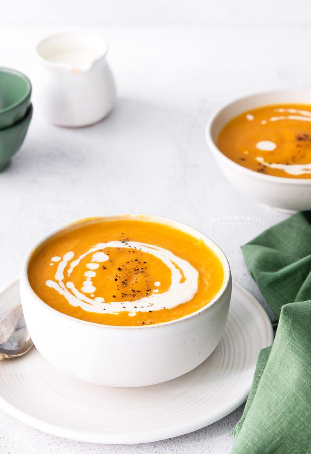 fall squash soup