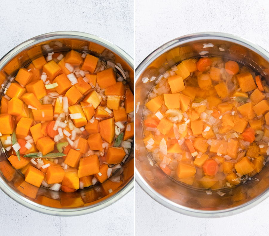 how to make Instant Pot Butternut Squash