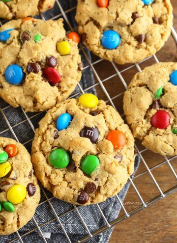 the BEST Monster Cookies Recipe