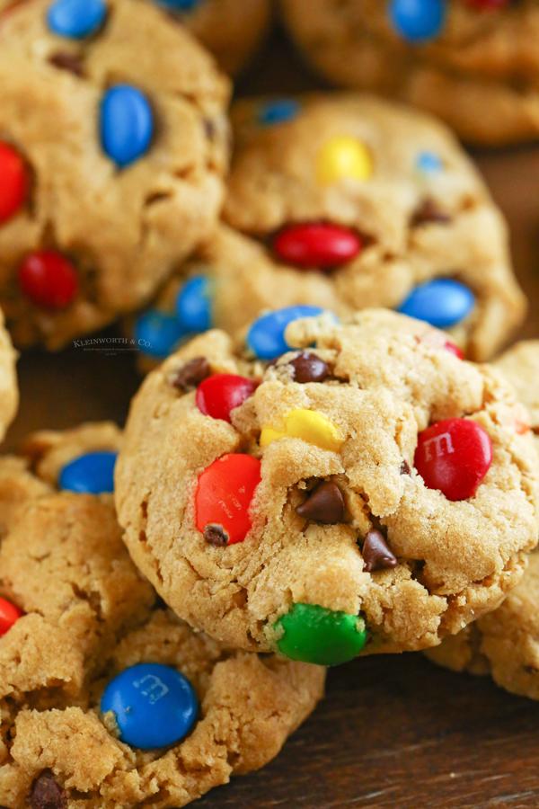 oatmeal Monster Cookies