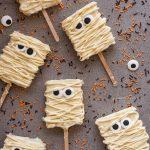 recipe for Mummy Rice Krispie Treats