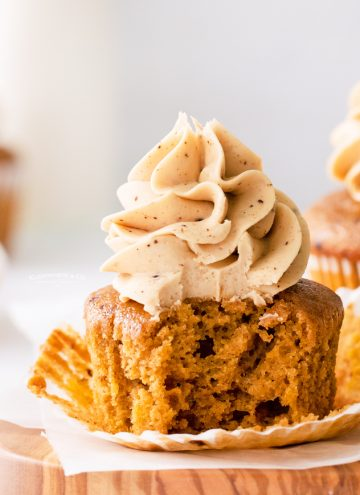 espresso pumpkin cupcakes