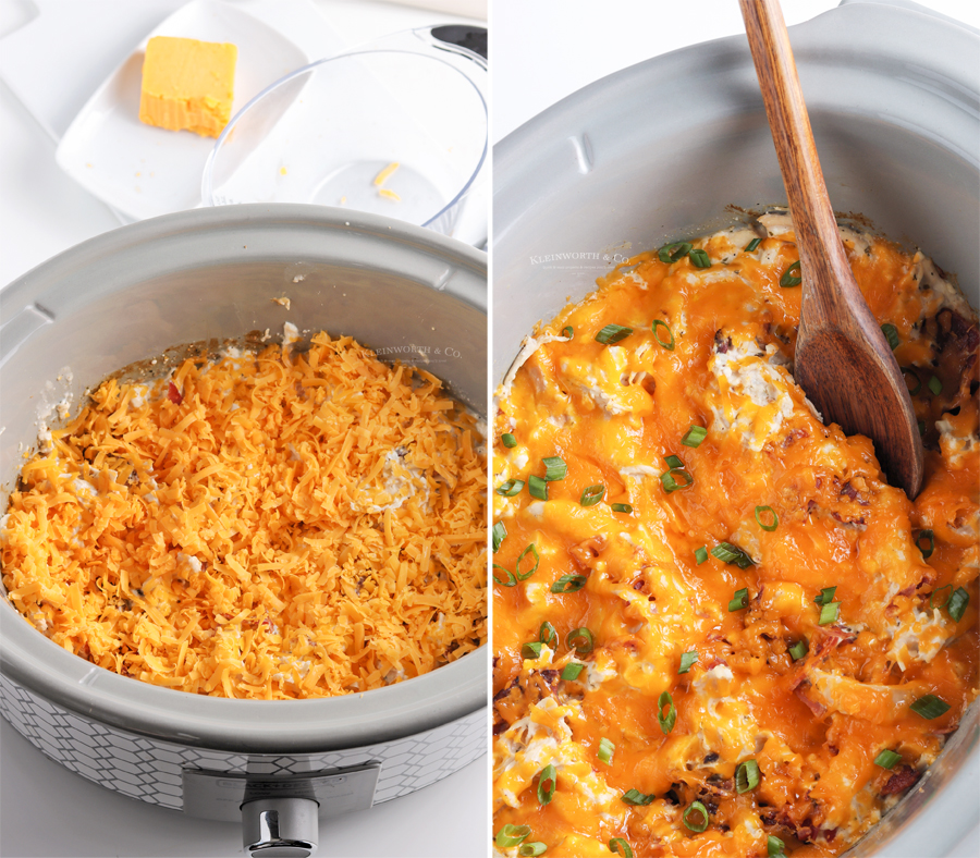 adding cheese - cheddar chicken