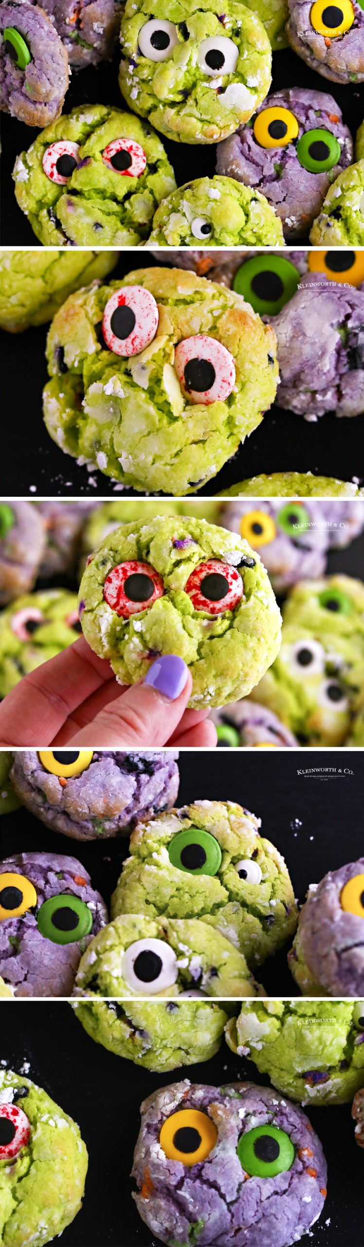 how to make Zombie Cookies