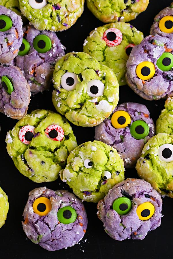 recipe for Zombie Cookies