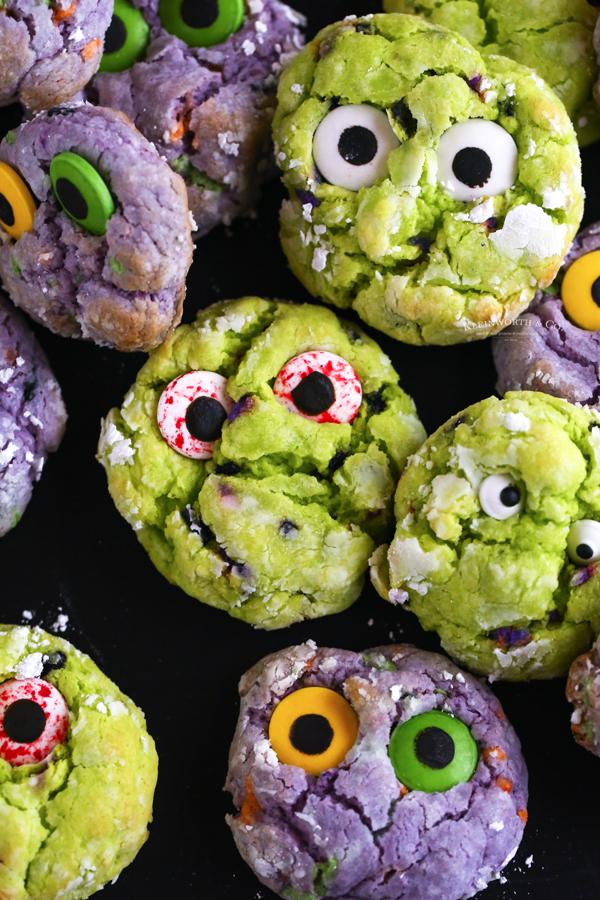 cake mix green cookies