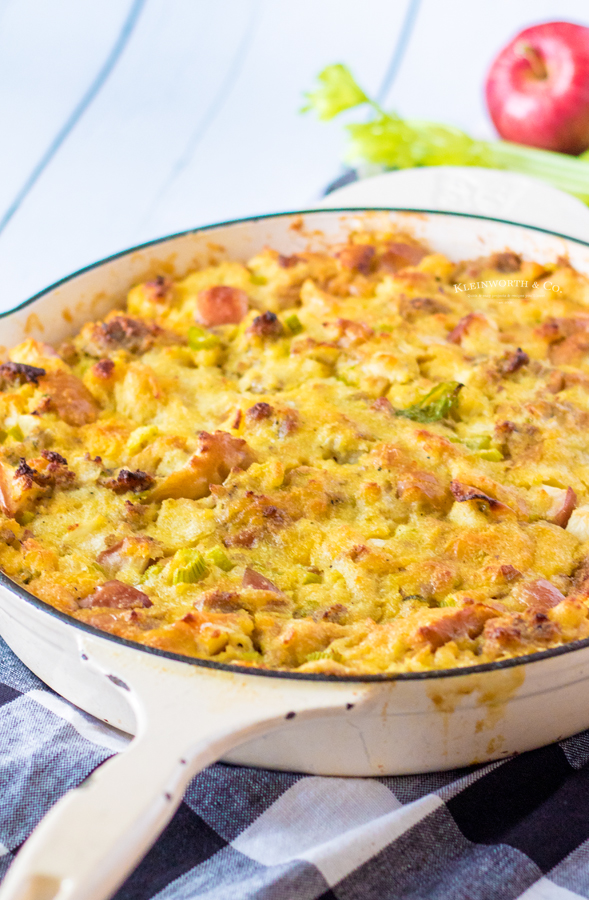 recipe for Apple Stuffing with Sausage