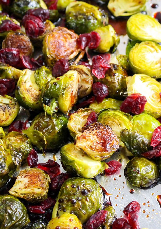 recipe for Balsamic Brussel Sprouts
