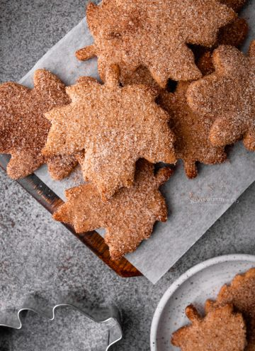 fall holiday cookies