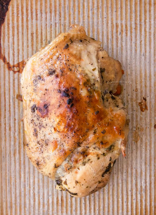 browned turkey breast