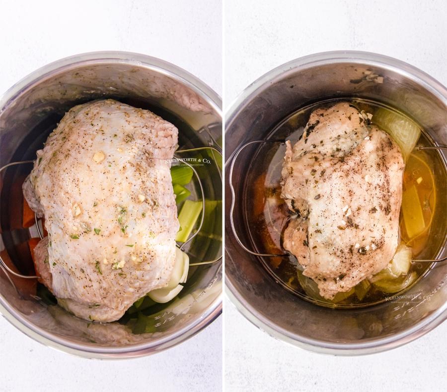 how to make pressure cooker Turkey Breast