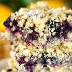 berry crumble - Blueberry Crumble Bars